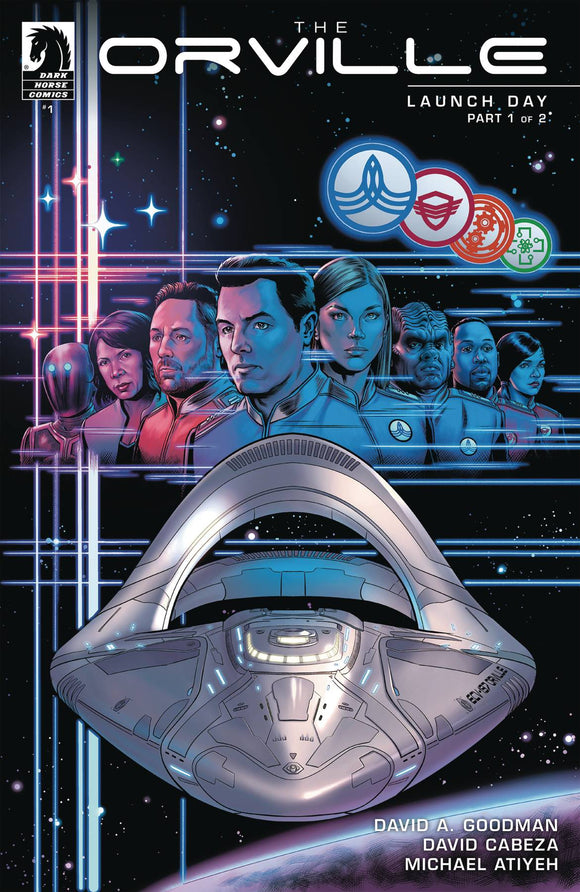 Orville #1 Launch Day (of 4) - Comics