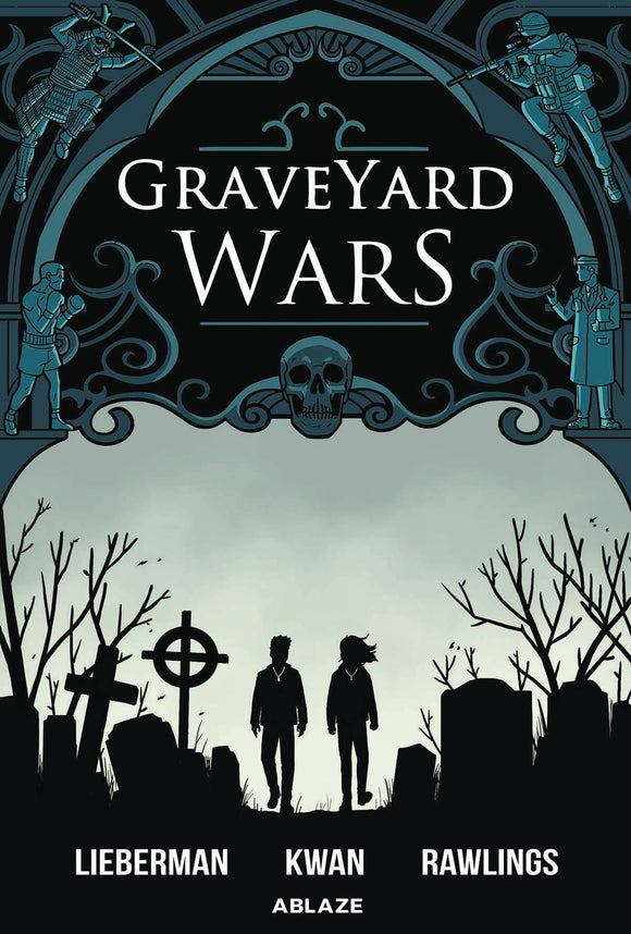 Graveyard Wars HC GN Vol 01 - Books