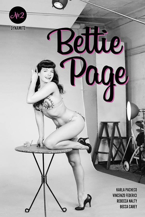 Bettie Page #2 Cvr E Photo - Comics