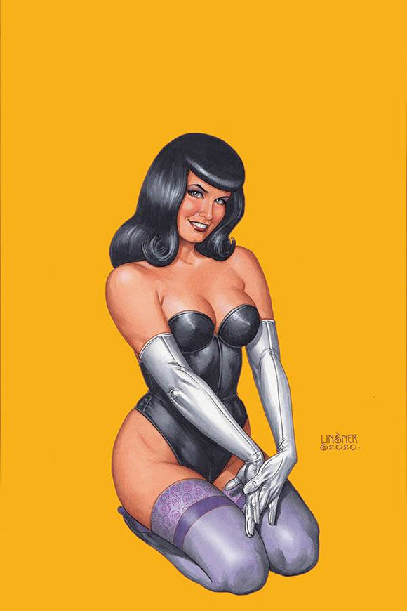 Bettie Page #2 Linsner Ltd Virgin Var - Comics