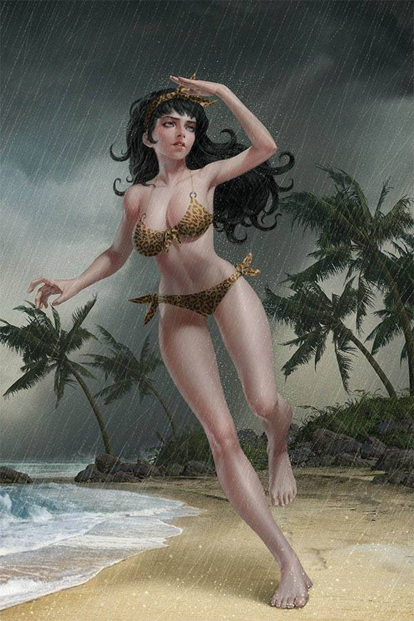Bettie Page #2 Yoon Ltd Virgin Var - Comics