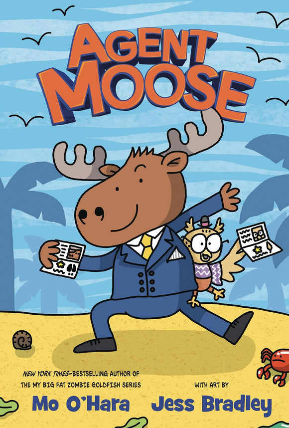 Agent Moose GN Vol 01 - Books