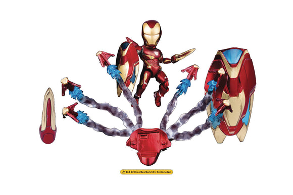 A3 Infinity War Eaa-070Ac Iron Man Mk50 Weapon Accessory Set - Toys and Models