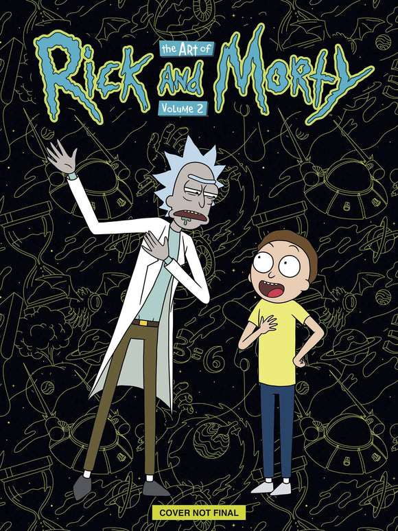Art of Rick & Morty HC Dlx Ed Vol 02 - Books