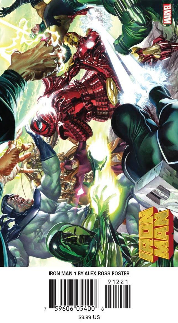Iron Man #1 By Alex Ross Poster - Misc