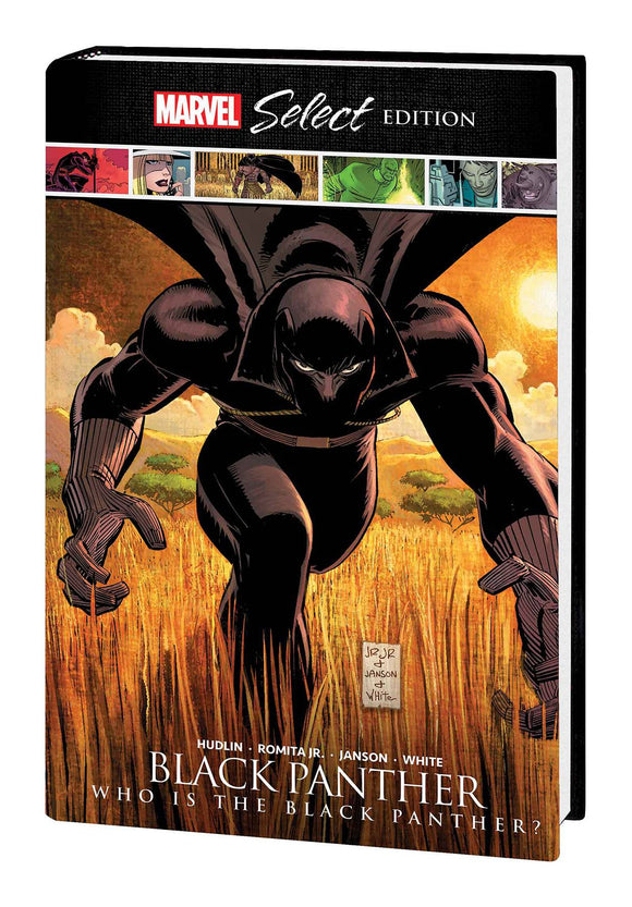 Black Panther Who Is Black Panther Marvel Select HC - Books