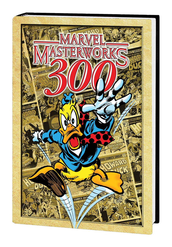 Mmw Howard The Duck HC Vol 01 Dm Var Exclusive Ed 300 - Books