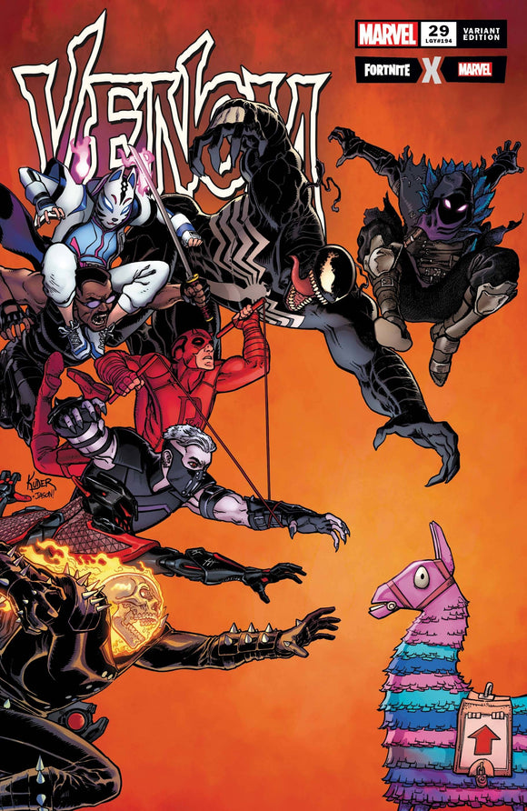 Venom #29 Kuder Fortnite Var - Comics
