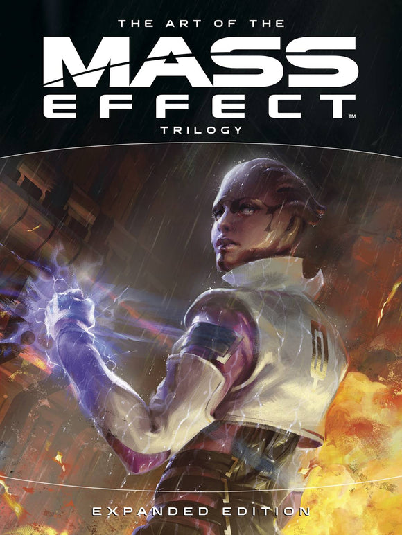 Art of Mass Effect Trilogy Expanded Ed HC - Books
