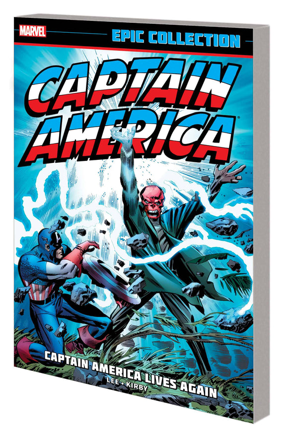 Captain America Epic Coll TP Lives Again New Ptg - Books