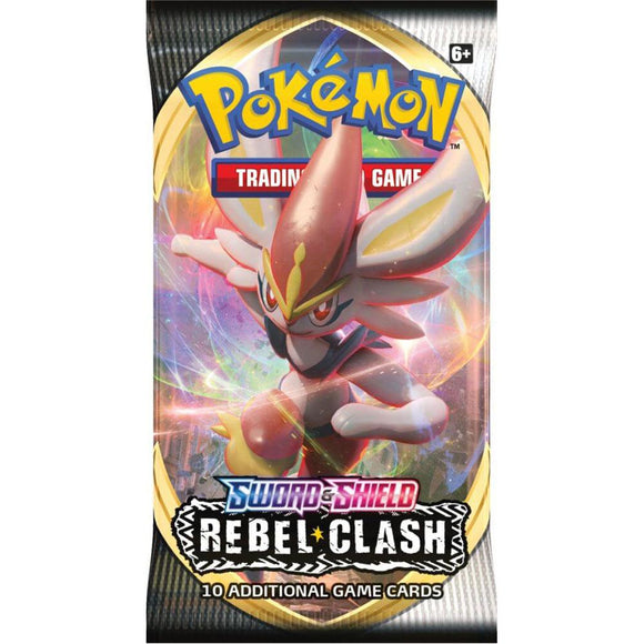 Pokemon Tcg: Sword & Shield - Rebel Clash Booster Pack - Single - Games