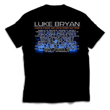 Load image into Gallery viewer, Luke Bryan 2017 Tour Tee - BACK