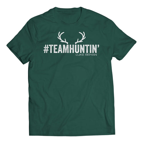 Hunter Green Team Huntin' Tee - Front