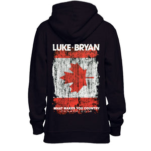 What Makes You Country Canada Tour Hoodie