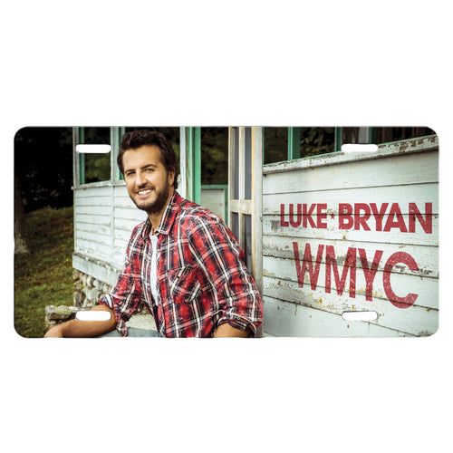 Luke Bryan What Makes You Country License Plate.