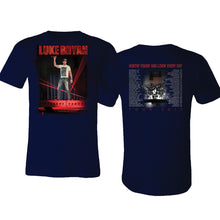 Load image into Gallery viewer, Luke Bryan 2017 Navy Tour Tee