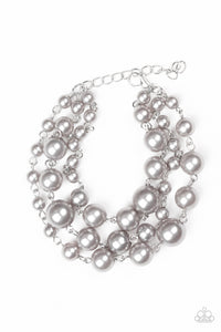Until The End Of TIMELESS - Silver - Paparazzi Accessories