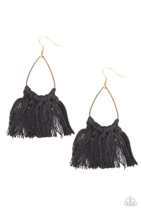 Tassel Treat - Black - Paparazzi Accessories