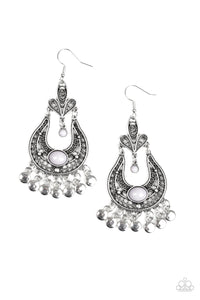 Fiesta Flair - Silver - Paparazzi Accessories