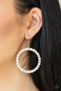 Pearl Palace - White - Paparazzi Accessories