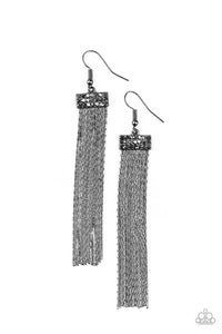 Twinkling Tapestry - Black - Paparazzi Accessories