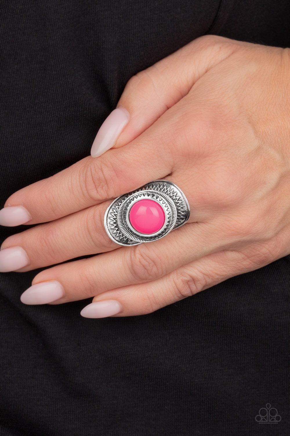 Sunny Sensations - Pink - Paparazzi Accessories