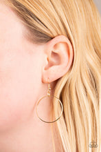 Load image into Gallery viewer, My Ears Are Ringing - Gold - Paparazzi Accessories