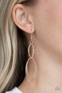 Endless Echo - Rose Gold - Paparazzi Accessories