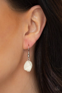Stunningly Stone Age - White - Paparazzi Accessories