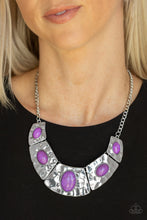 Load image into Gallery viewer, RULER In Favor - Purple - Paparazzi Accessories
