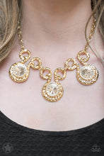 Load image into Gallery viewer, Hypnotized Necklace Set-Gold