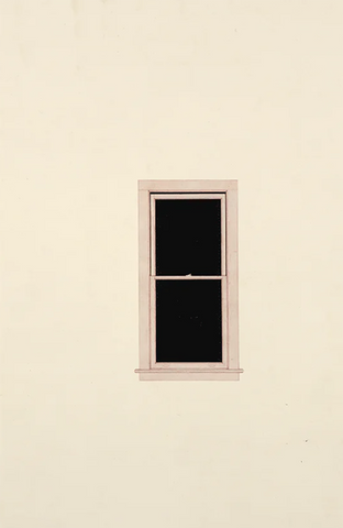 Toba Khedoori Untitled (window), 1999 Oil and wax on paper