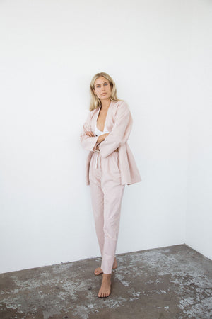 penney + bennett rose pocket pants