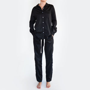 raven organic cotton long sleeve shirt - PENNEY + BENNETT