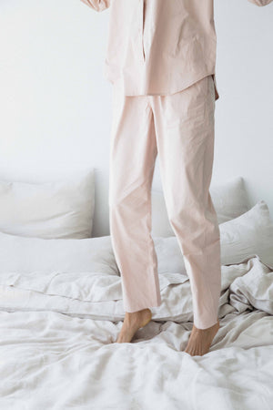 rose pocket pants image