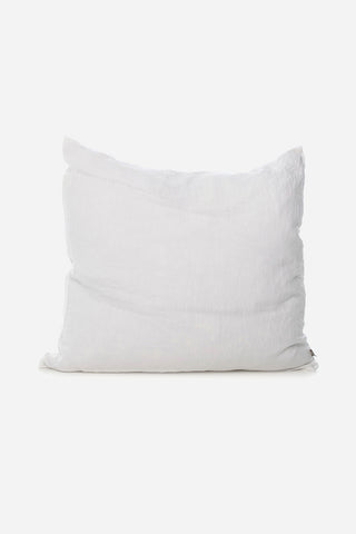 zinc linen european pillow cover pair