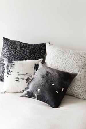 black moonstone small cushion