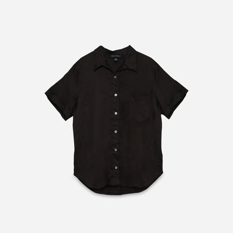 raven organic cotton short sleeve shirt - PENNEY + BENNETT