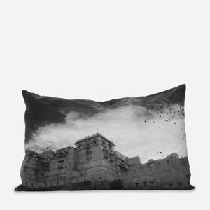 grey fort pillowslip - PENNEY + BENNETT