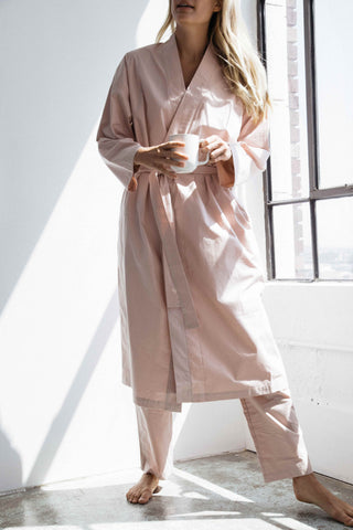 rose long lounge robe - PENNEY + BENNETT