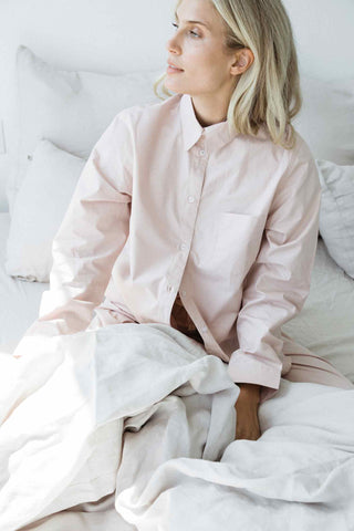 Penney + Bennett rose long sleeve shirt