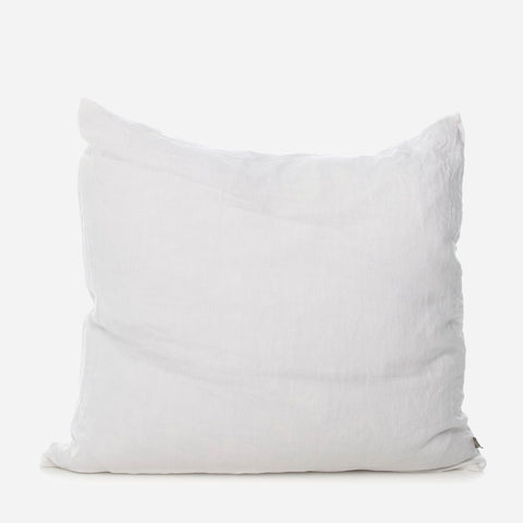 zinc linen european cushion cover pair - PENNEY + BENNETT