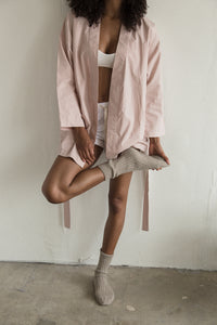 rose smoking jacket