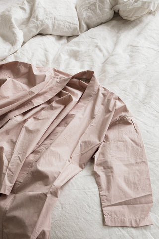 rose long lounge robe