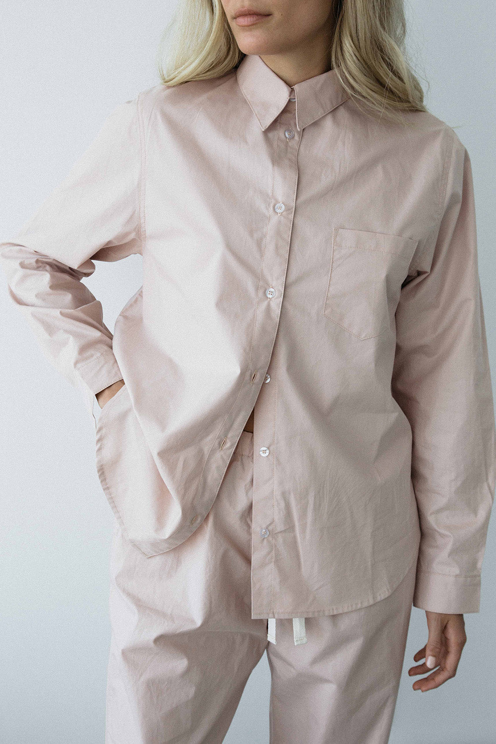 rose long sleeve shirt - PENNEY + BENNETT