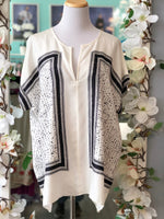 Vince Silk blouse/ tunic size XL