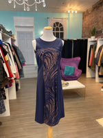 Bcbgmaxazria imperial blue Leona dress nwt size large