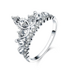 Adia crown ring 925 silver