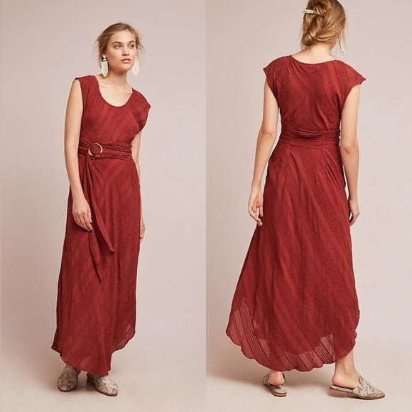 Anthropology Guinevere maxi for Moulinette Soeurs size 6