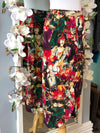 Simon Chang vintage faces skirt size 8